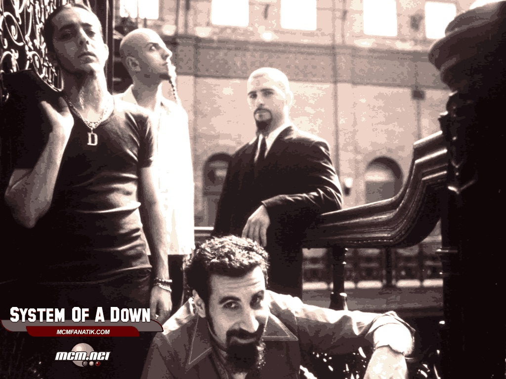 System Of A Down Band Music Wallpaper