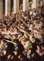 Authoritarians can often be identified by their love of synchronised saluting.